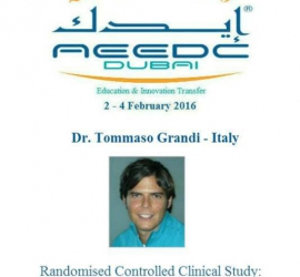 3-4 FEBRUARY 2016 – AEEDC CONGRESS, DUBAI
